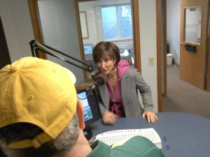 Wayne Sharpe and Pam Tillis talk about the upcoming drawing for two tickets to her December 9th show at Three Rivers Casino and Hotel