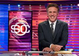 ESPN Sports Center Los Angeles host Neil Everett began his broadcast career in Florence, Oregon fresh out of journalism school at the University of Oregon.