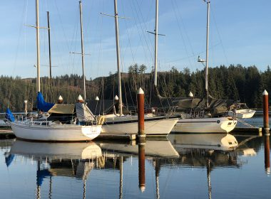 Boats on the Siuslaw