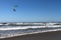 Florence Oregon Kite Surfer