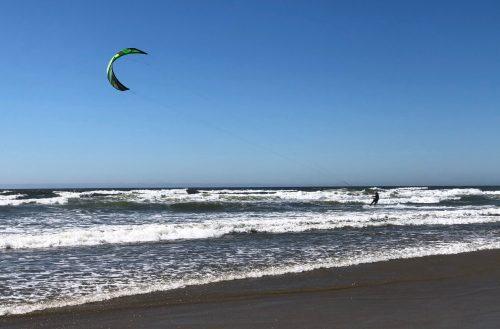 Florence Oregon Kite Surfer